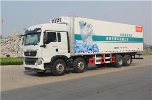 华体会app二维码HOWO-T5G冷藏车