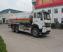 绿叶牌JYJ5251GYYE型铝合金运油车